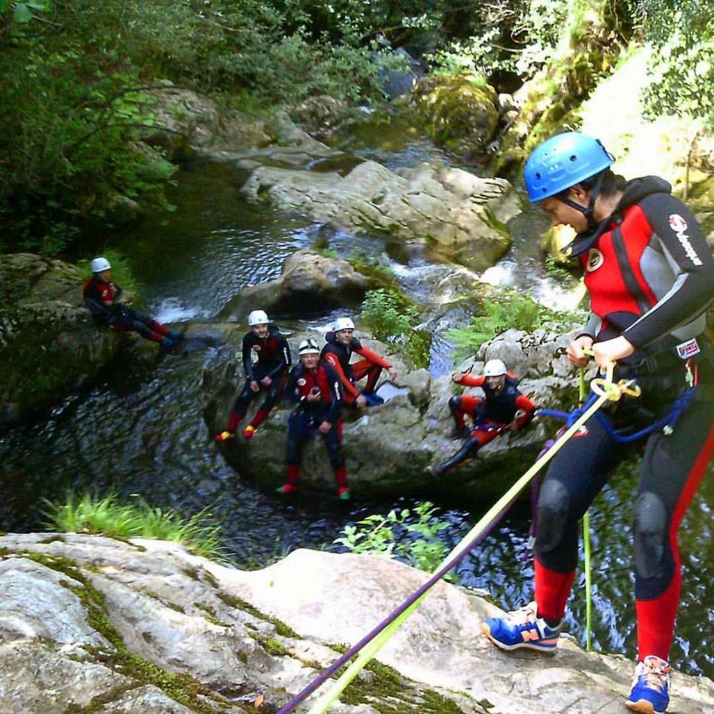 Barranquismo en Cantabria. Descenso de barrancos en Picos de Europa
