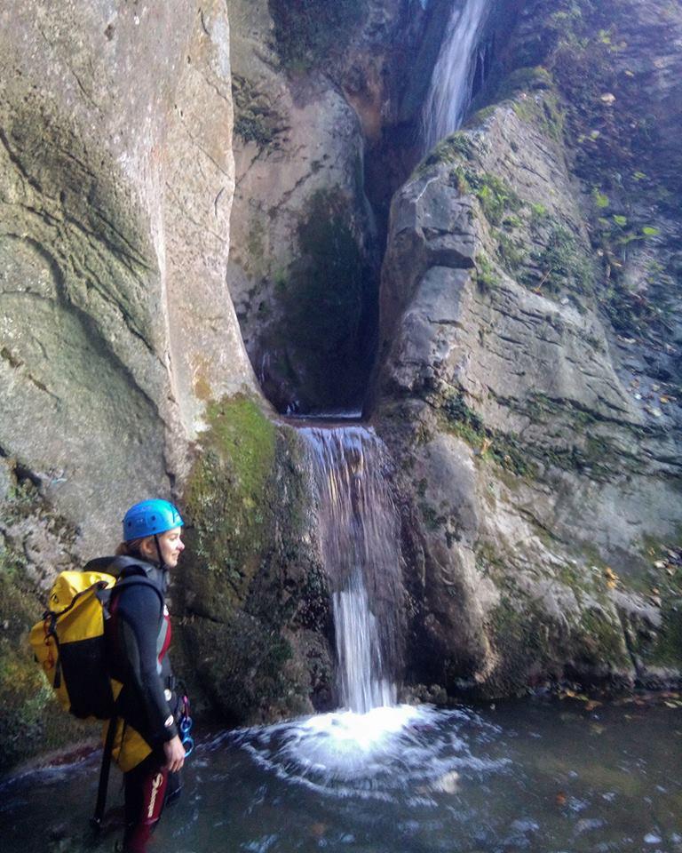 Causacas o Serandi. Barranquismo en Asturias