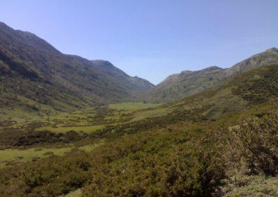 trekking en la sierra del Cuera