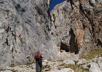 senderismo en los Picos de Europa