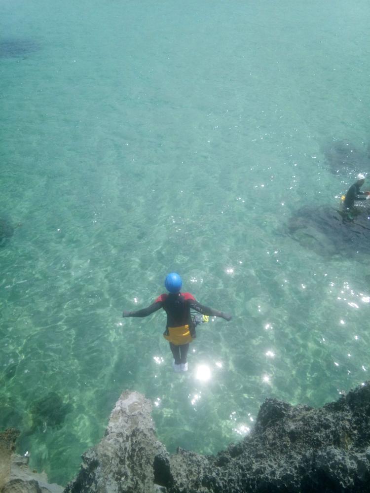 coasteering