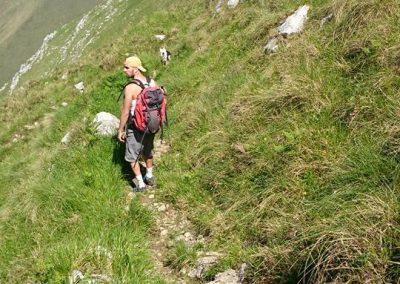 rutas de montaña en la Sierra del Cuera
