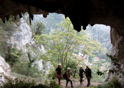 Cueva Diosu. Ferrata de La Hermida.