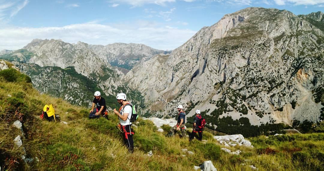 vías ferratas Cantabria