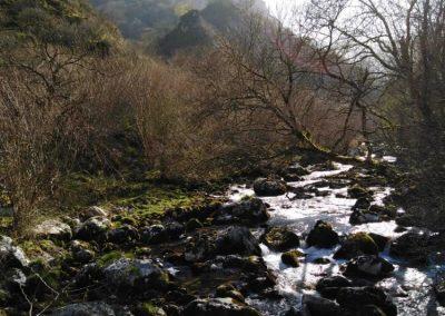 ruta en Asturias. río Casaño