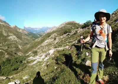 trekking en la Sierra del Cuera. Valle de Viango