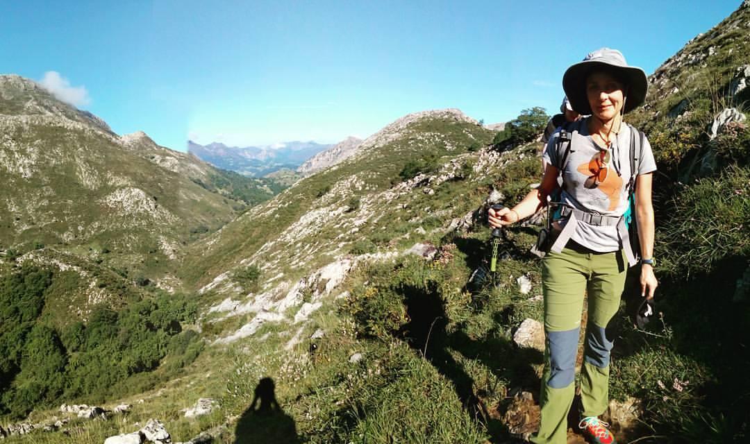 trekking en la sierra del Cuera. rutas en LLanes