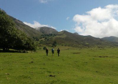 senderismo en el Valle de Viango