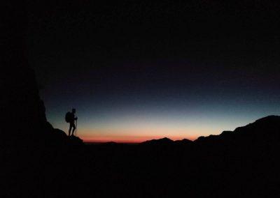 Senderismo nocturno y amanecer en Picos de Europa