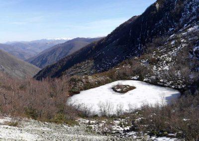 senderismo en el occidente de Asturias. Laguna de Muniellos