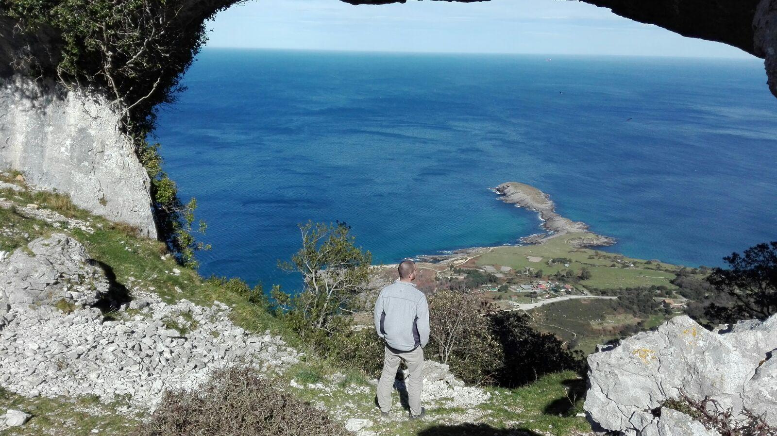 Rutas en Cantabria. Ruta a los Arcos de LLonegro (Los Ojos del Diablo)