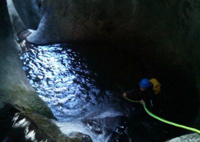 barranquismo nivel avanzado en la zona central de Asturias.