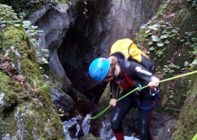 descenso de barrancos en Asturias y Cantabria. Foz del Causacas