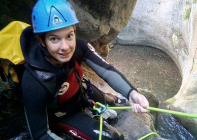 descenso de barrancos en Asturias. Foz del Causacas