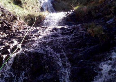 barranco del Valcabrero - segundo rapel