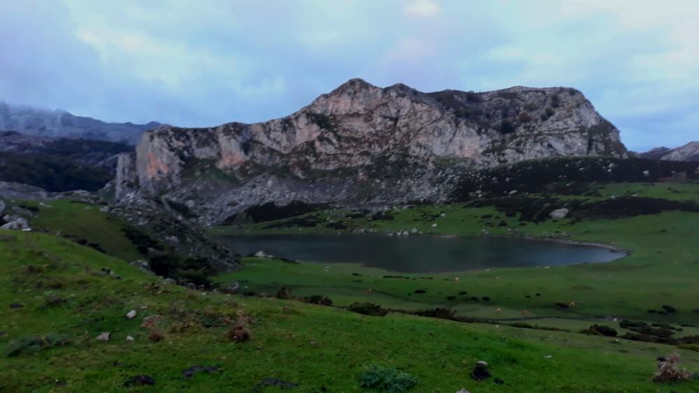 Lagos de Covadonga. Lago Ercina