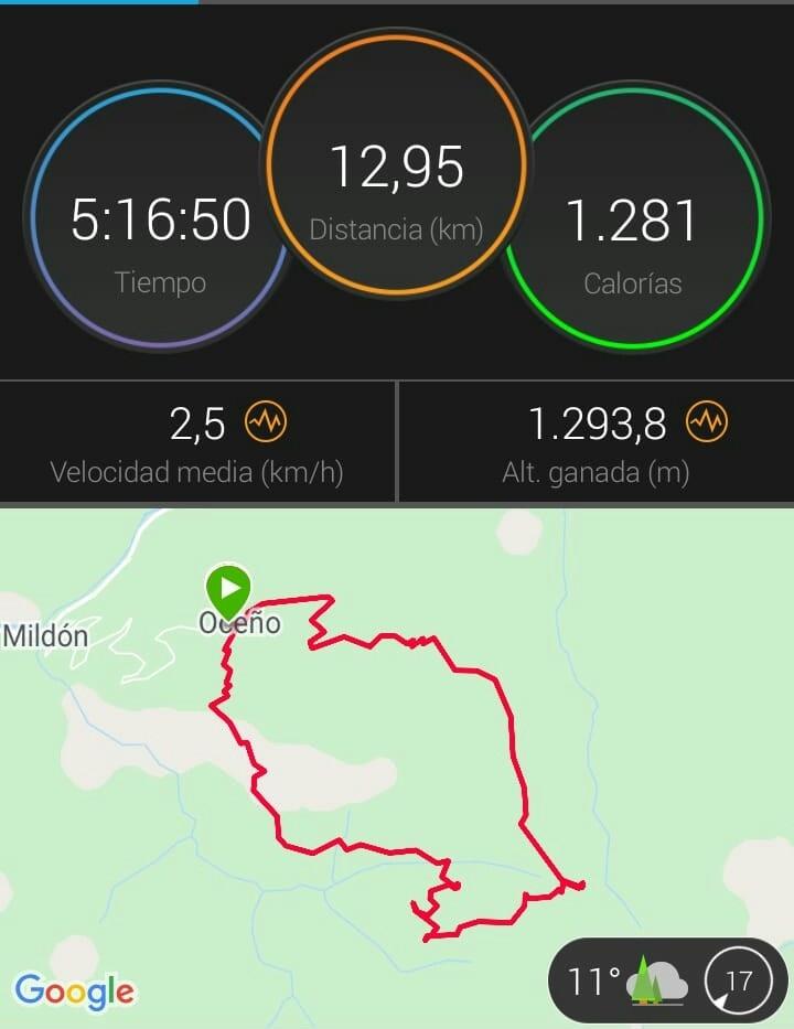 track ruta senderismo asturias