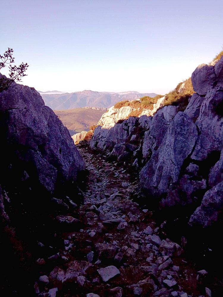 Senderismo. Los Retraites. Asturias