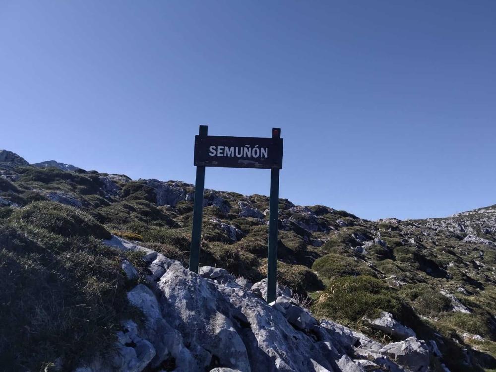 majada de Semuñín, Picos de Europa