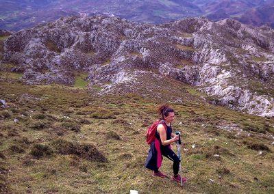 rutas de montaña y senderismo en la Sierra del Cuera, Asturias