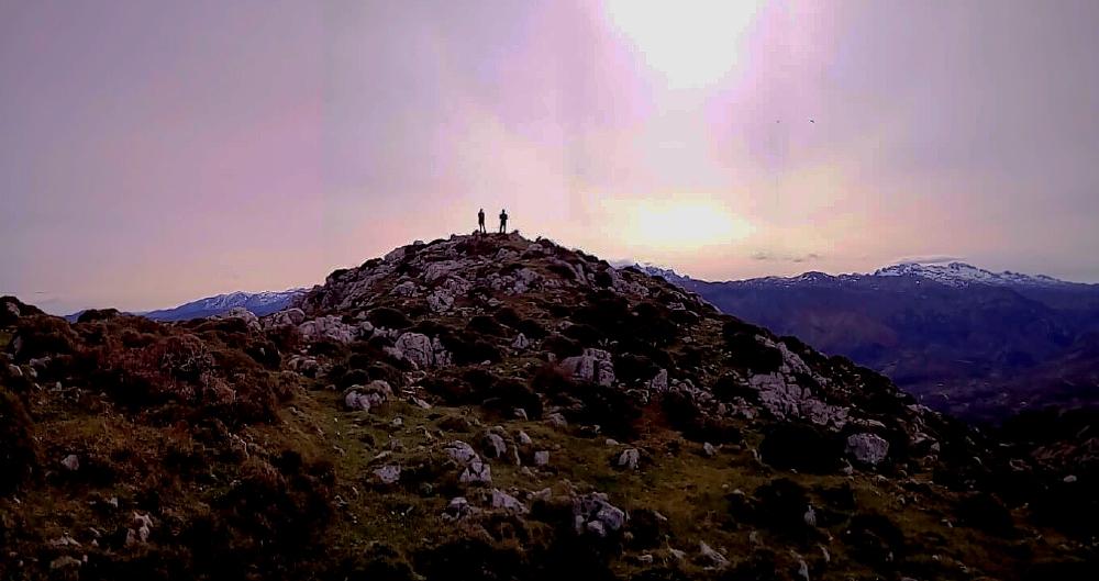 hiking Asturias.