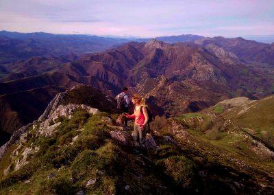 rutas de montaña en LLanes