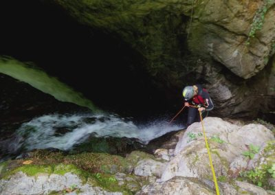 descenso de barrancos en Picos de Europa